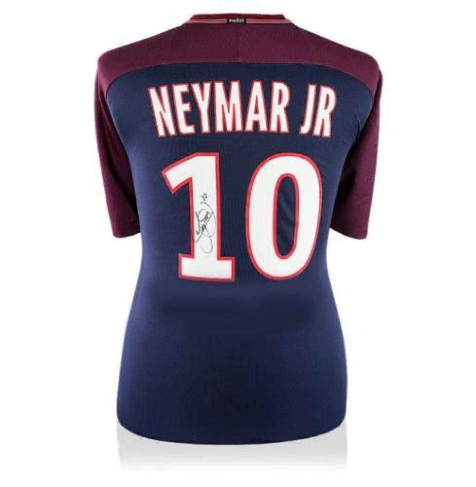 best sneakers 580df 5fdac Neymar Signed Paris Saint-Germain Jersey (Icons Sports COA)