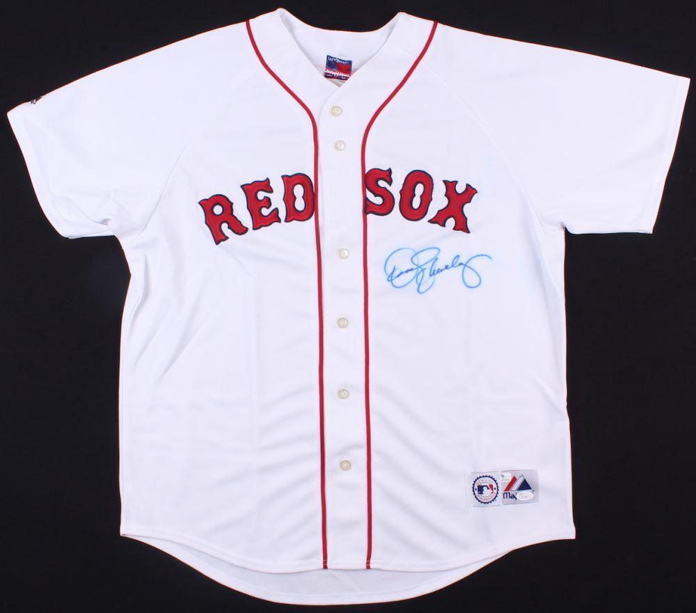 422857190 Image 1   Roger Clemens Signed Red Sox Jersey (JSA COA)