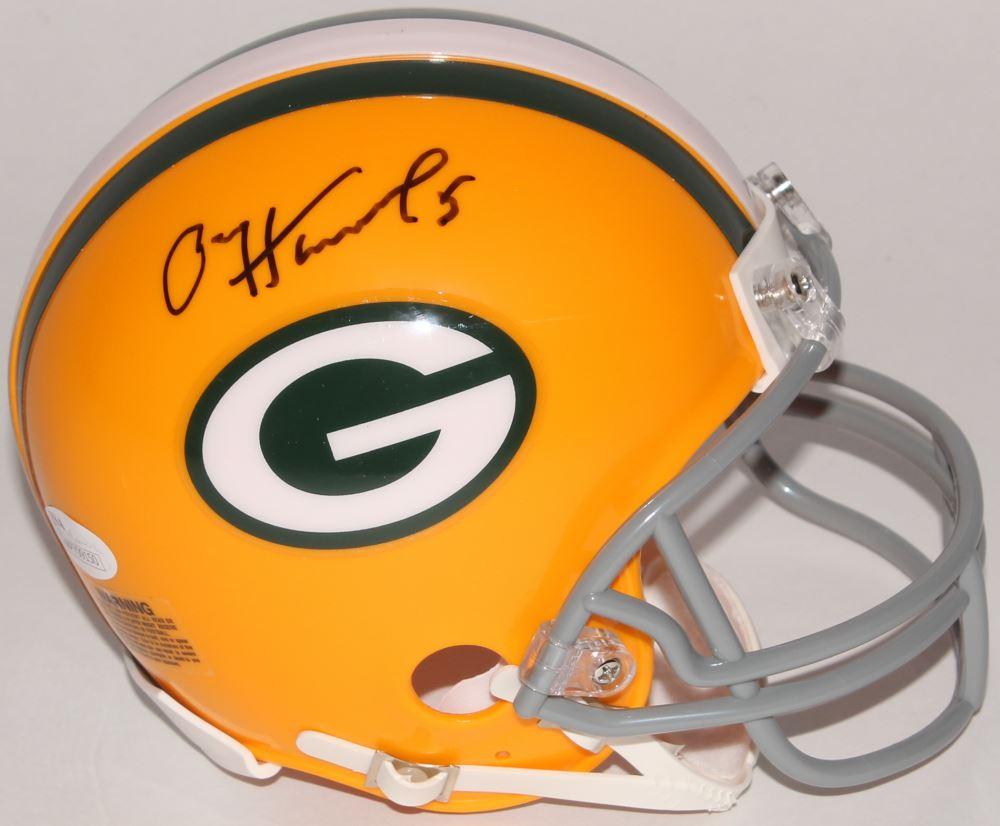 9c432bb3a33 Image 1   Paul Hornung Signed Packers Mini Helmet (JSA COA)