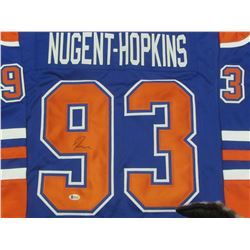 Ryan Nugent Hopkins Hand Signed Jersy with COA