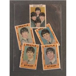 Complete Set 1964 Beatles Stamps