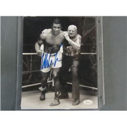 Iron Mike Tyson Hand Signed 8 x 10 Photo with COA