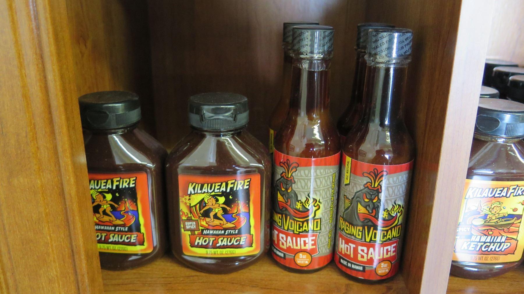 Various Hawaiian Hot Sauces and Pancake Mix - Oahu Auctions