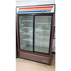"True GDM-45 Sliding Door Reach-In Display Cooler 51"" x 29""D x 78""H"