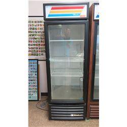 "True GDM-23-LD One-Door Reach-In Display Cooler 26.5"" x 30""D x 78.5""H"