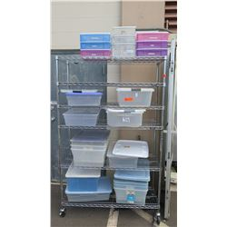 Various Plastic Storage Containers (Approx 17pcs)