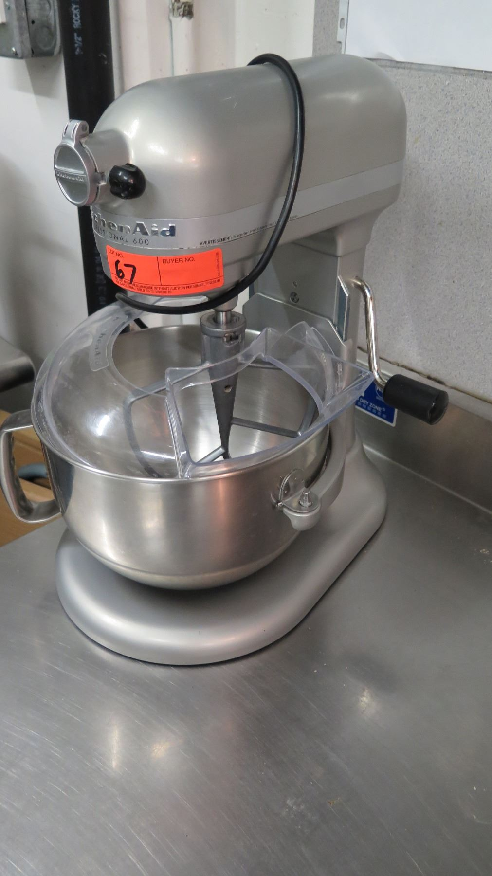 Kitchenaid Professional 600 Stand Mixer - Oahu Auctions