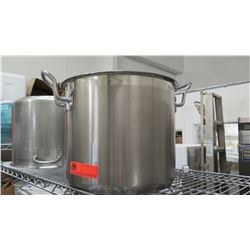 Baker and Chef's 20 Quart Stock Pot w/ Lid (3pcs)