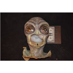 ALIEN MASK WITH UNUSED APPLIANCE