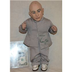 AUSTIN POWERS MINI ME TALKING DOLL HAND SIGNED BY VERNE TROYER