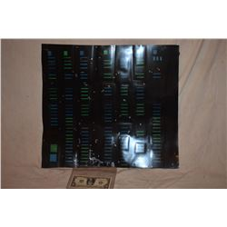 STAR TREK TNG STARSHIP ENTERPRISE SCREEN USED CONTROL PANEL C-GRADE 11