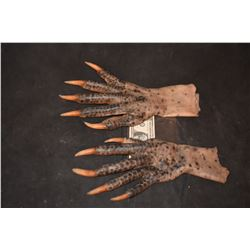 GRIMM ALIEN CREATURE MONSTER DEMON SILICONE ARMS GLOVES 4