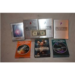 ZZ-CLEARANCE STAR TREK TNG & VOYAGER DVD COLLECTION