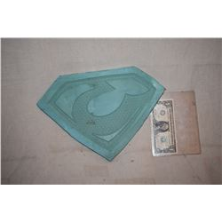 SUPERMAN OF METAL ALLOY ZOD GLYPH MASTER MOLD