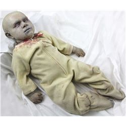 Z NATION HERO ANIMATRONIC ZOMBIE BABY PUPPET SCREEN MATCHED