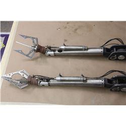 ROBOTIC ARMS WITH ANIMATRONICS INTACT MATCHED PAIR