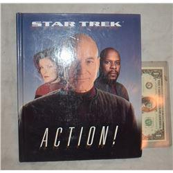 ZZ-CLEARANCE STAR TREK ACTION BOOK