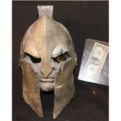 SPARTAN HELMET WITH FACE OOAK MADE FOR THE HISTORY CHANNEL