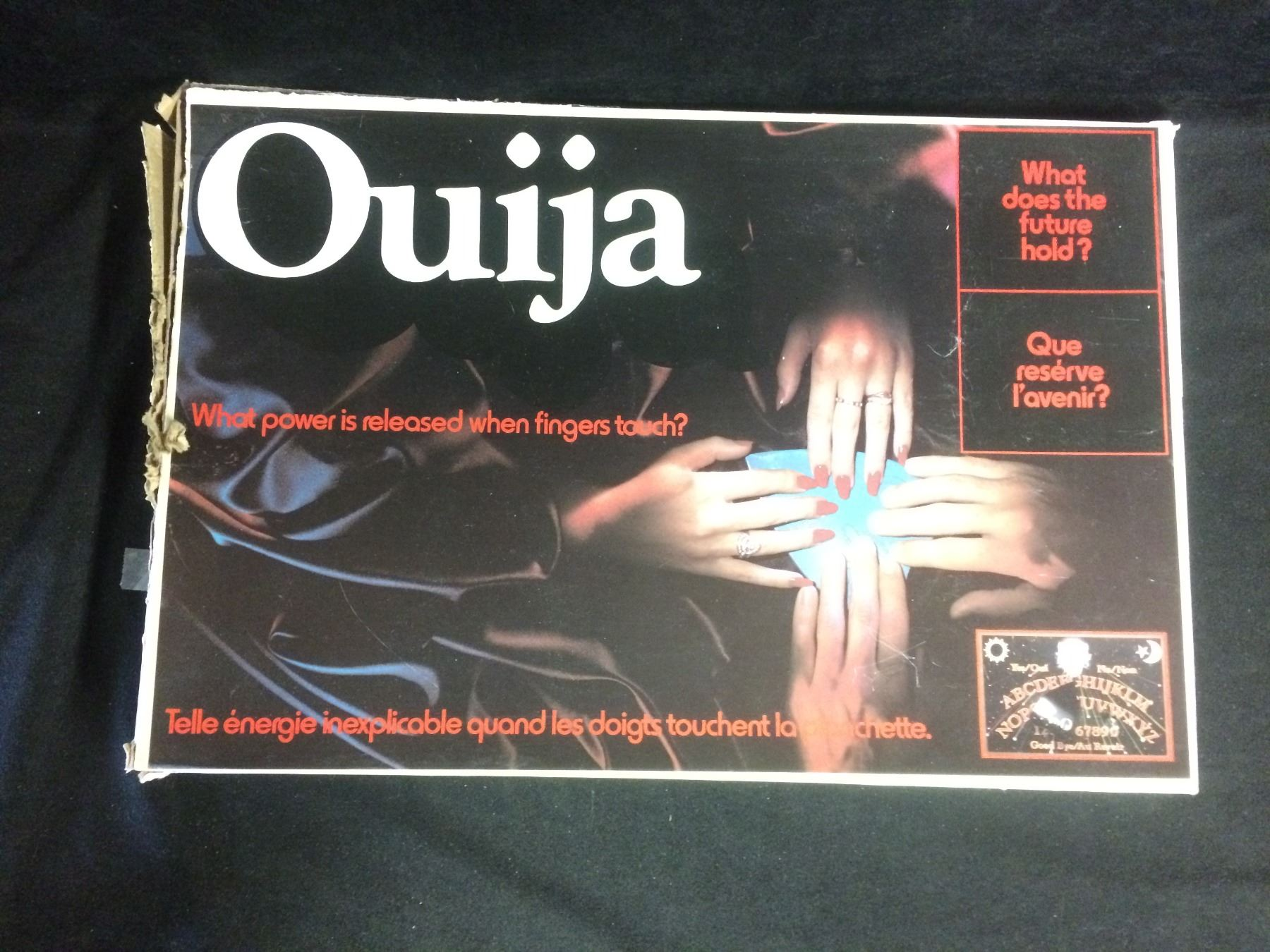 Vintage Ouija Board In Box