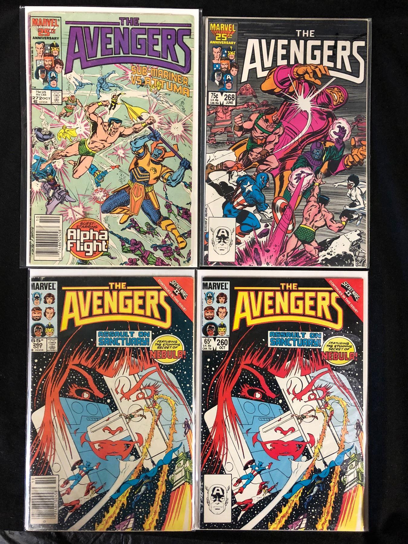 Marvel The Avengers Comic No.272 BIN B