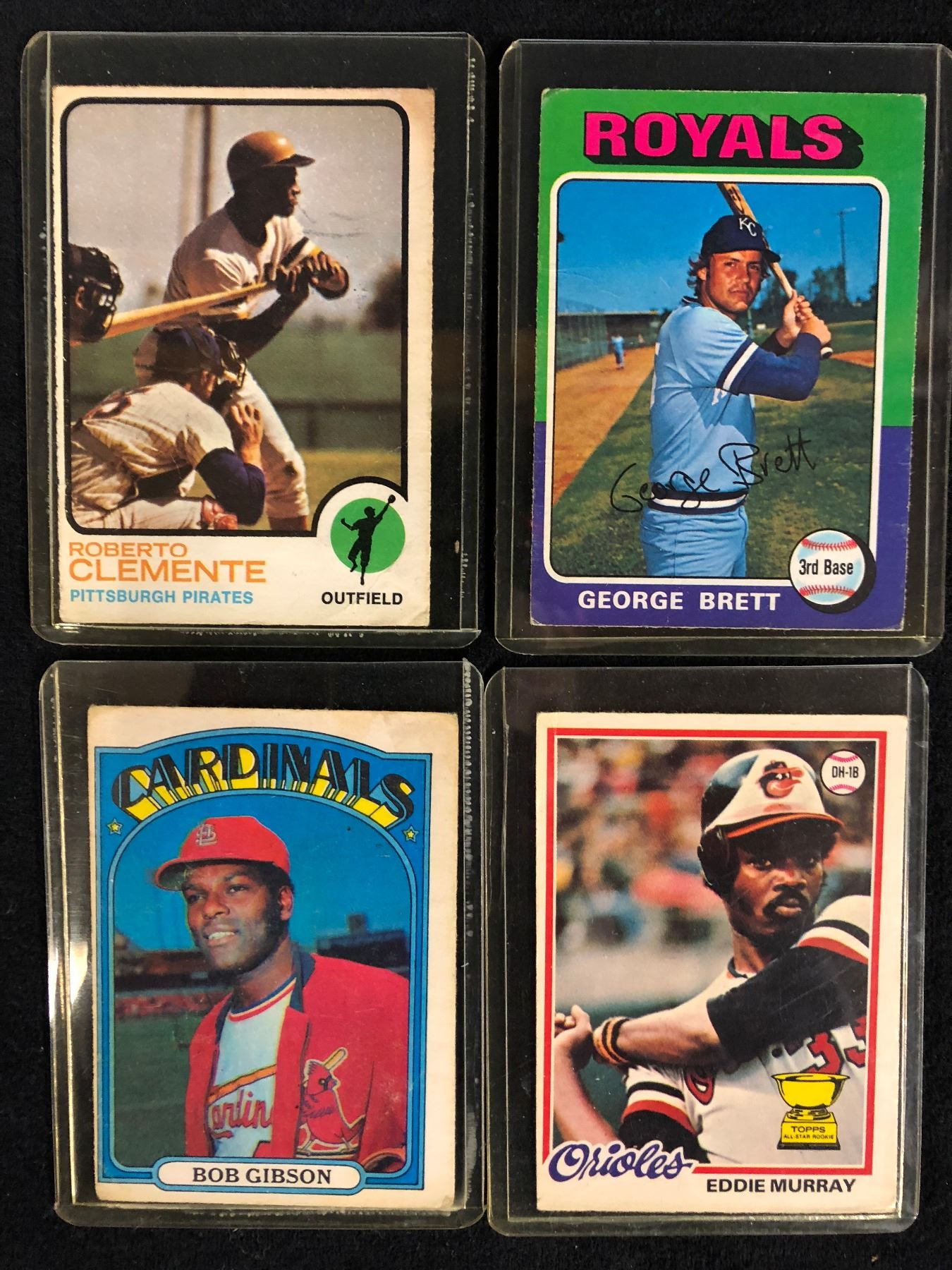 1970s Baseball Trading Cards Lot