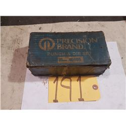 Precision Brand 40105 Punch & Die Set