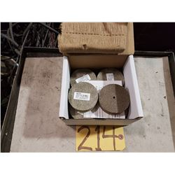 Box of Keto Scotch-Brite Unitized Wheel 3''x1''x1/4''