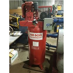 Air BOSS Vertical Compressor 5HP 220v 1ph