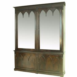 ENGLISH GOTHIC CABINET- VANCOUVER