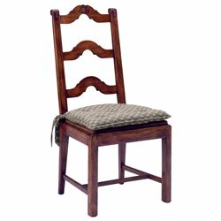 FRENCH LADDER BACK DINING SIDE CHAIR - LOS ANGELES