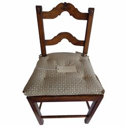 FRENCH LADDER BARSTOOL ARMLESS - LOS ANGELES