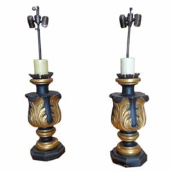 ACANTHUS LEAF TABLE LAMP - LOS ANGELES