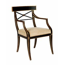 KLEIO DINING ARM CHAIR - LOS ANGELES