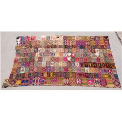 Cigar Box Label Swatch Blanket