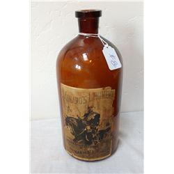 Authentic Reproduction Minards Liniment Bottle