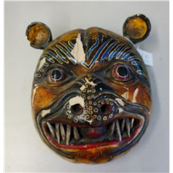 Mexican Tiger Festival Mask