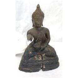 Chinese Buddha w/John Jordan COA