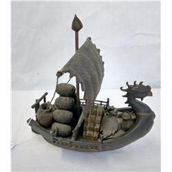 Bronze Trade Boat