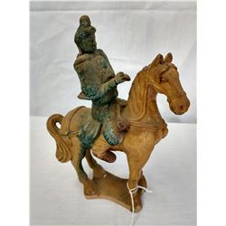 Roof Tile Horse & Rider