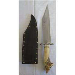 Donald Weiler Original Stag Crown Bowie Knife