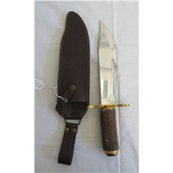 Stag Handle Bowie Knife