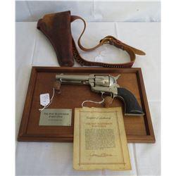 Bat Masterson Reproduction Double Action Pistol