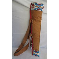Plains Indian Beaded Arrow Quiver