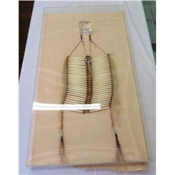 Cheyenne Beaded Breast Plate Frame