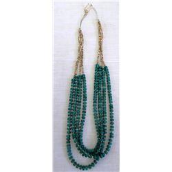 4 Strand Pueblo Necklace