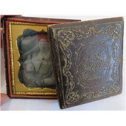 Victorian Tin-Type Photo