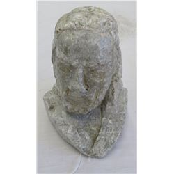 Stone Bust of Christ