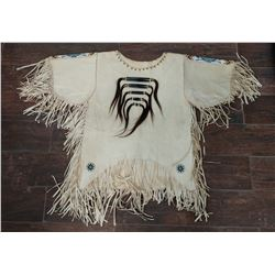 Plains Indian Beaded War Shirt