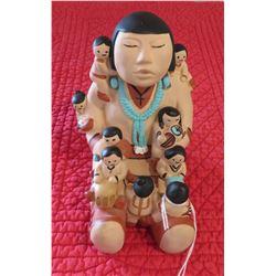 Pueblo Pottery Storyteller