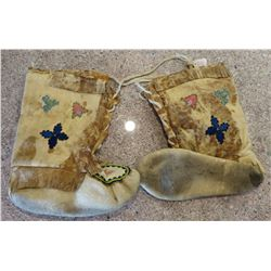 Antique Alaskan Moccasins